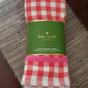 NWT Kate Spade kitchen towels